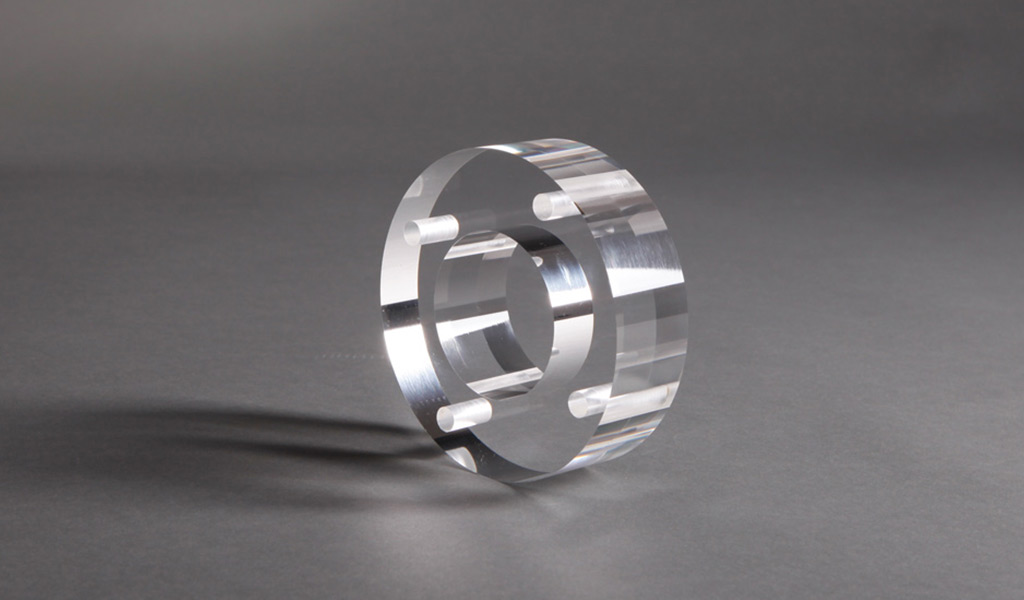 Individuelle Designs auf Acrylglas